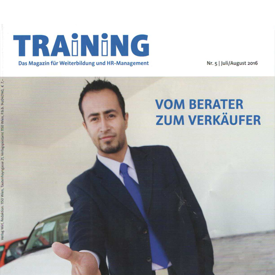 Wer Trainings designt, hat gute Chancen