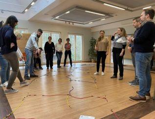 Eine interaktive Trainingmethode für fulminaten Gruppenprozesse
