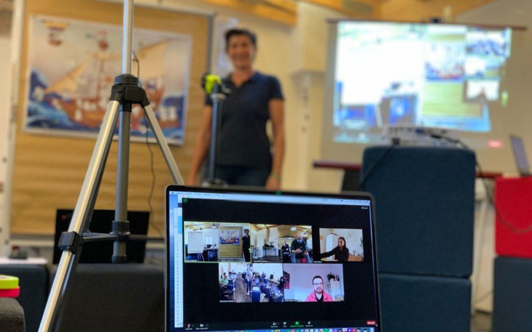 Hybrid trainieren – aus der Sicht einer Trainerin
